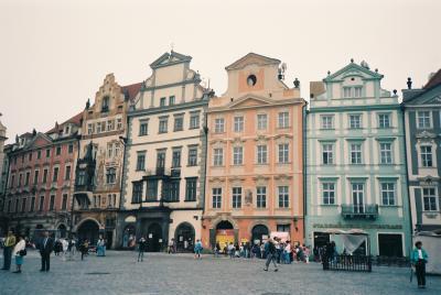 共産時代のプラハ