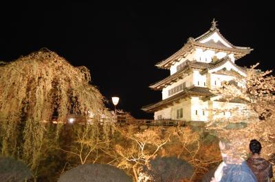 弘前城址の桜@北東北の旅