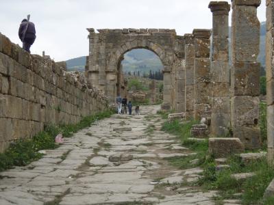 ジェミラ遺跡