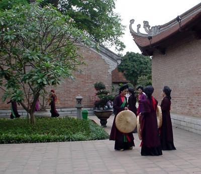ハノイ4: 孔子廟