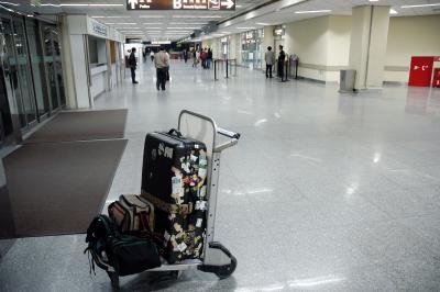 帰国とハプニング~上海虹橋国際空港~