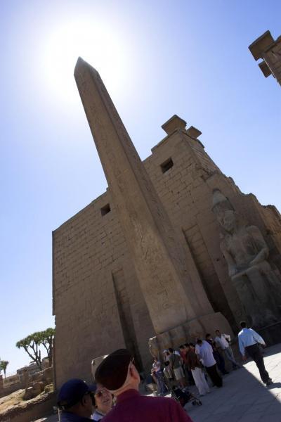 2007年イギリス・エジプト・ヨルダン・シリア旅行 13日目前編 ルクソール東岸(ルクソール神殿) -LUXOR(EAST BANK)-