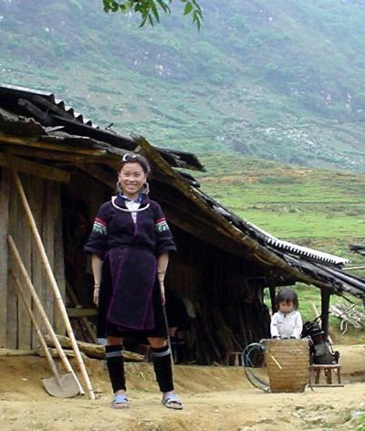 北部ベトナム7: サパ 「モン族の村・シンチャイ村」