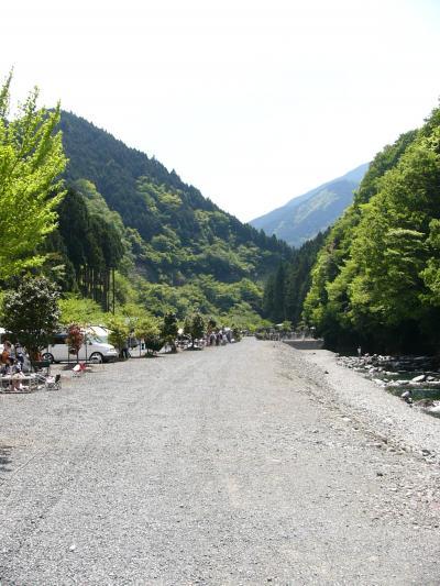 道志・神之川でキャンプだホイ!