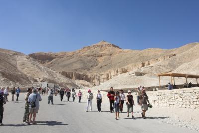 2007年イギリス・エジプト・ヨルダン・シリア旅行 14日目前編 ルクソール西岸 ? -LUXOR(WEST BANK)-