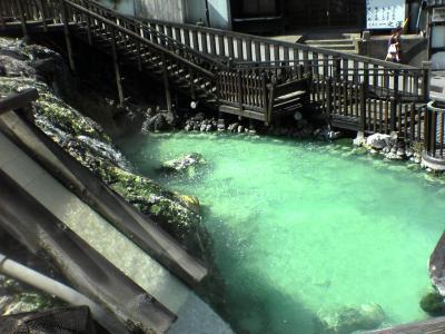 【草津温泉】無料湯巡りへドライビング♪