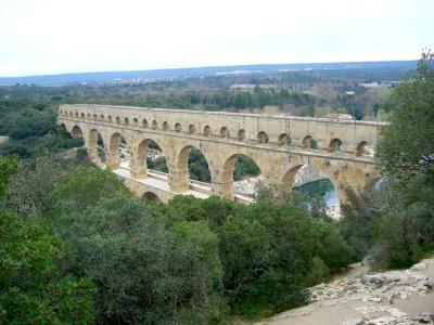 欧州鉄道の旅(★世界文化遺産:ポン・デユ・ガール Pont du Gard)