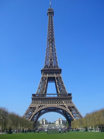 欧州鉄道の旅(★世界文化遺産:パリ/エッフェル塔 Paris)