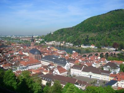 欧州鉄道の旅(ハイデルベルク Heidelberg)
