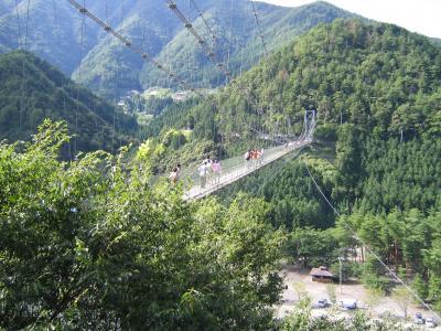 日帰りドライブ◆谷瀬のつり橋&笹の滝
