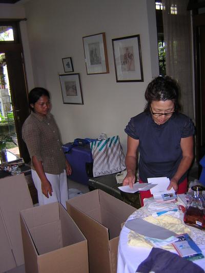 支援活動  ロンボク島へ