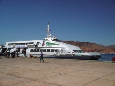 2007年イギリス・エジプト・ヨルダン・シリア旅行 17日目 ハルガダ~ヌエバア -FROM HURGHADA TO NUWEIBA-