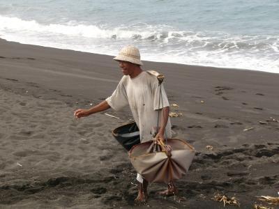 バリ島の東部  クサンバ地区