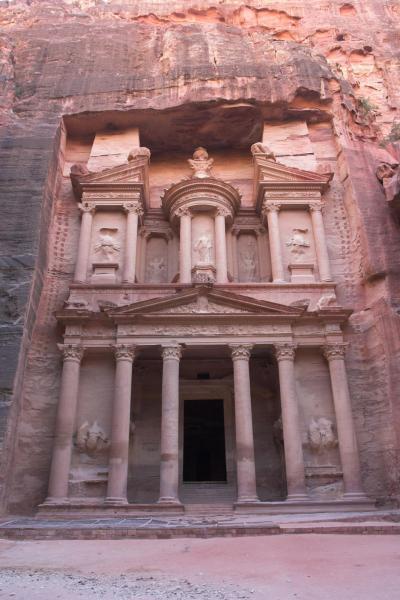 2007年イギリス・エジプト・ヨルダン・シリア旅行 19日目前編 ペトラ -PETRA-