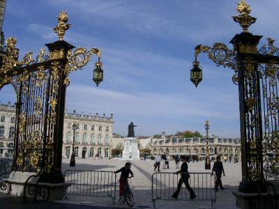 世界遺産旅行記【69】ナンシーのスタニスラス広場、カリエール広場、アリアンス広場