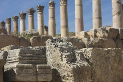2007年イギリス・エジプト・ヨルダン・シリア旅行 21日目 アンマン~ジェラシュ~ダマスカス -JERASH(FROM AMMAN TO DAMASCUS)-
