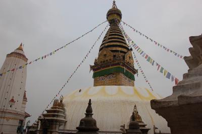 タイ、ネパール、インド一人旅 スワヤンブナードで癒される!