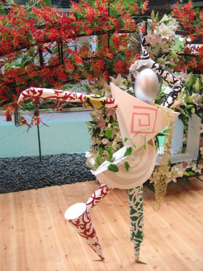 ジャパンフラワーフェスティバルさいたま2007(1)フェスティバルならディスプレイ@