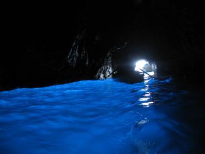 イタリア浪漫紀行10日間 ■7日目:カプリ(青の洞窟)