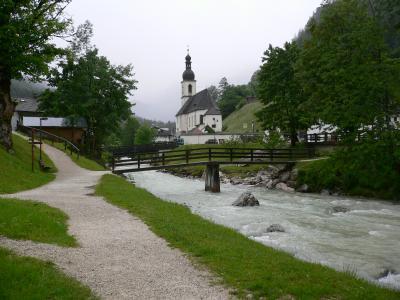 2007年5月29日 DAY2 ベルヒテスガーデン、ラムザウ教会、ヒンター湖