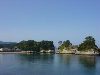 堂ヶ島の風景