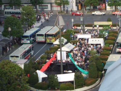 第22回吉祥寺音楽祭 北口駅前スーパーステージ