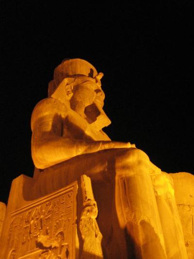 娘といざ エジプト