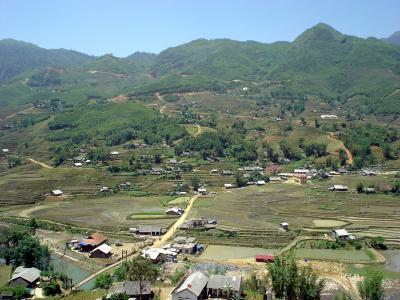 北部ベトナム9: サパ 「ターヴァン村にザイ族を訪ねて」