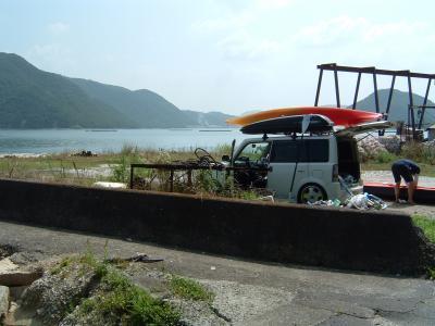 カヤックの旅?備前市片上湾・日生諸島曽島、鴻島周辺