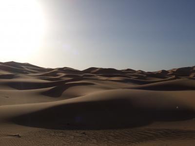 サハラ砂漠の果て、オアシスのハッシラビッドHassilabied
