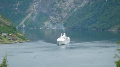ガイダンゲル・フィヨルドの船旅