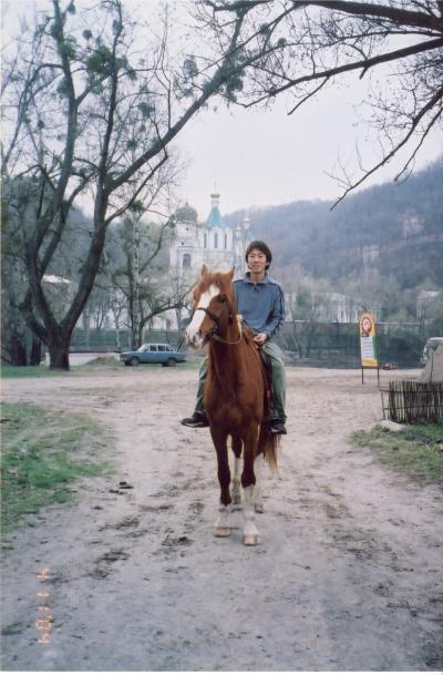 スビャタゴルスクの修道院でのパスハ(復活祭)