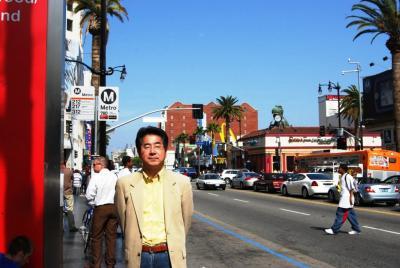 ロングビーチからハリウッドに行きました