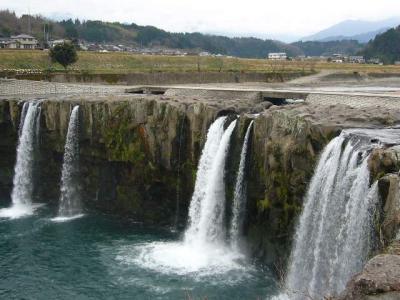 原尻の滝「冬の高千穂・神話の旅 その24」