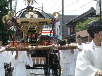 鷲宮神社八坂祭り