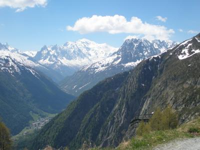 2006年夏アルプス旅行1 Chamonix 散策