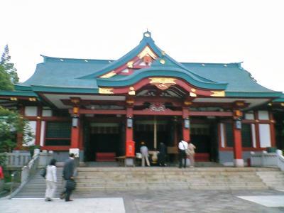ぶらり旅に行こう「日枝神社」