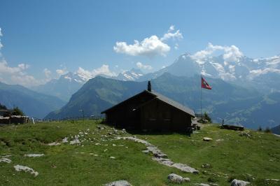 2007年スイス旅行記−?−ドリュとメール・デュ・グラス氷河