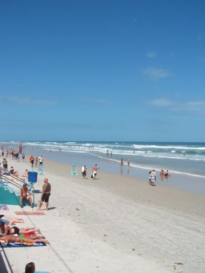 U.S.A: Daytona Beach~初一人旅~