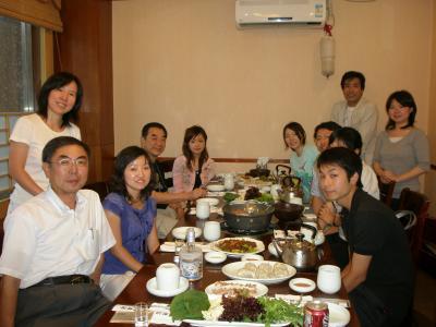 延辺大学夏季短期留学生との交流