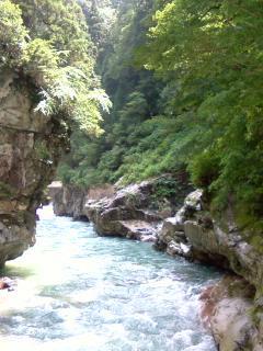 富山旅行 黒部渓谷