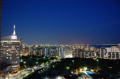 夕焼け夜景@ホテルニューオータニ幕張