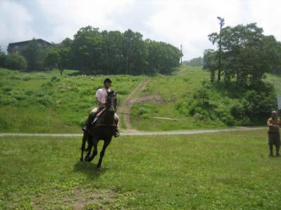 丸池ホテル − 志賀高原(夏) 乗馬