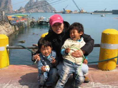 2006春、韓国紀行15(7):4月28日(3)紅島・紅島散策