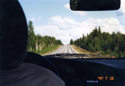 1997年夏フィンランドラップランドオーストリア旅行3-ロバニエミからイナリ、カラショクへ