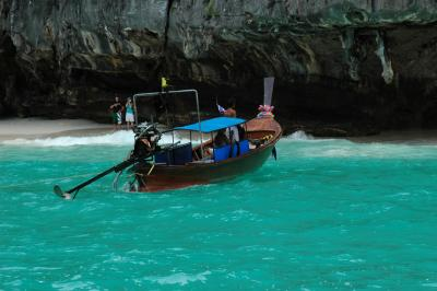 雨期のプーケット、ピピ島ツアー