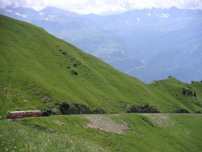 スイス旅行記 Vol.14 ☆ブリエンツ ロートホルン鉄道☆
