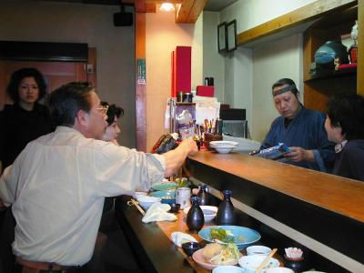2006新年、中国旅行記8(12:本文完):1月30日:帰国、早速日本酒の晩酌