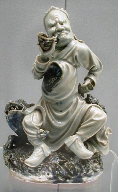 2006新年、中国旅行記8(14):写真補遺:上海博物館(2)陶磁器