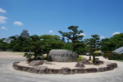 一人で姫路城